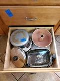Small Crock, Bake ware, Pots, Lids