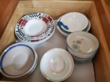 Lot of Dishes, Fire King, Campbell