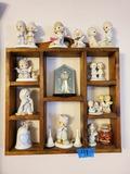Precious Moments and Shelf
