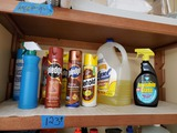 Shelf Contents, Cleaning Supplies