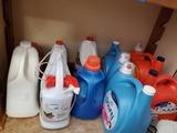 Shelf Contents, Laundry Supplies