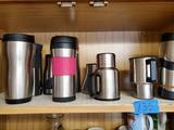 Shelf Contents, Metal Travel Mugs