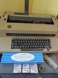 IBM Electric Typewriter with Supplies