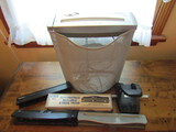Fellowes Paper Shredder with 3 Hole Punches
