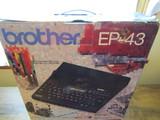 Brother EP-43 Electronic Typewriter