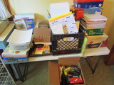 Office Supplies, NOT Including the Table