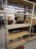Metal Adjustable Shelf Unit