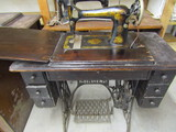 Singer AB628IC5 Treadle Sewing Machine on Stand
