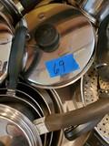 Saladmaster Pot and Pan Set