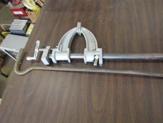 Large Clamp and Steel Hook