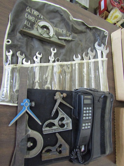 Lot of Tools, Olympia Wrenches, Wilcom Cellular, Squares