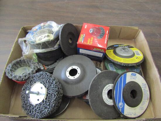 Lot of Grinding/Polishing Wheels