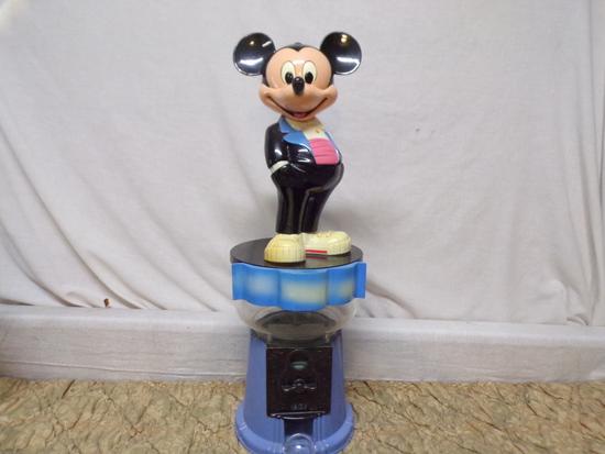 1988 vintage Mickey Mouse Bubble Gum Machine