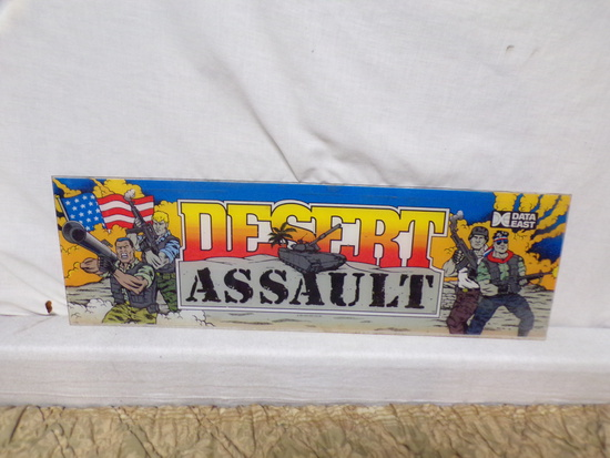 1991 aracade game backing