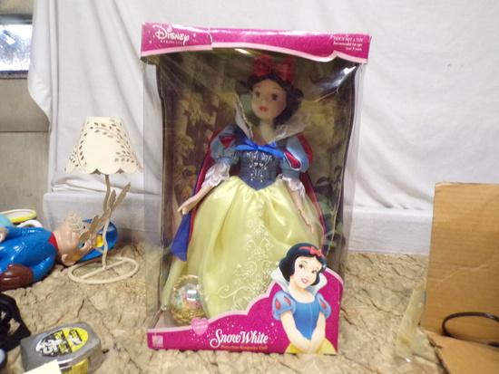 Porcelain Snow White Doll 2003