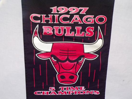 1997 Chicago Bulls Banner