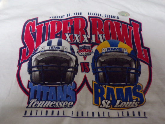 Super Bowl XXXIV T-Shirt