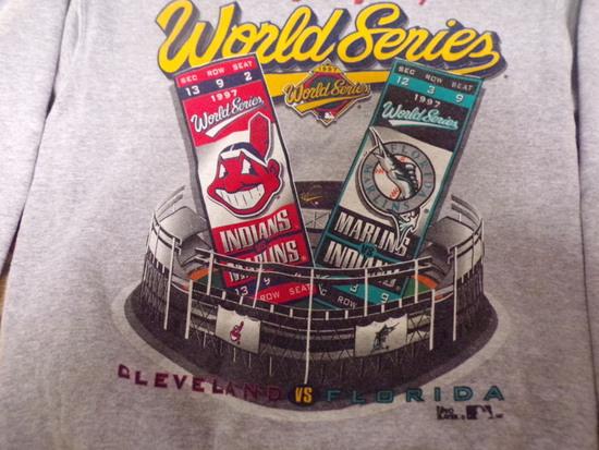 Clevland Indians World Series Sweatshirt 1997