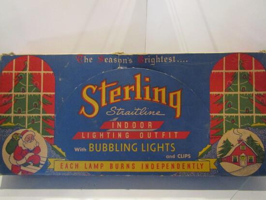 Vintage Sterling Bubble Lights