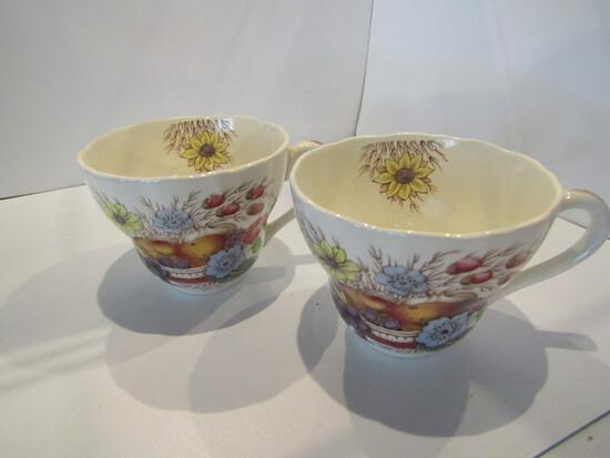 Lot of 2, Copeland Spode England Teacups