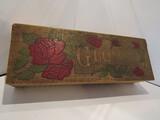Engraved Victorian Wood Glove Box, 10