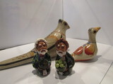 Lot of 4 of International Pottery Figurines