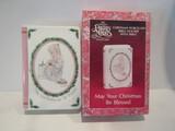 Precious Moments Christmas Porcelain Bible Holder, Box