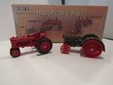 Lot of 2, ERTL Historical Toy Tractors, Die Cast, Box