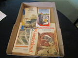 Lot of 6 Vintage Road Maps