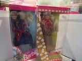 English and Australian Barbie in Box