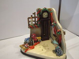 Hummel Goebel Musical Christmas Time Scape