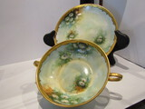 Bavaria Handpainted Saucer and Soup Bowl