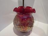 Imperial Red Carnival Vase