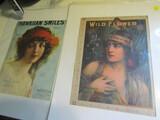 Art Nouveau Sheet Music, 1 is Signed