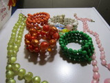 Lot of Lucite Necklace and Bracelets