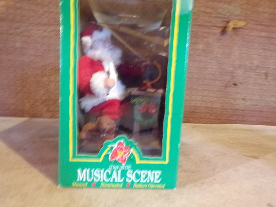 Santa Musical Scene