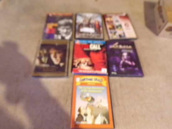 lot of 7 DVDS New and Used
