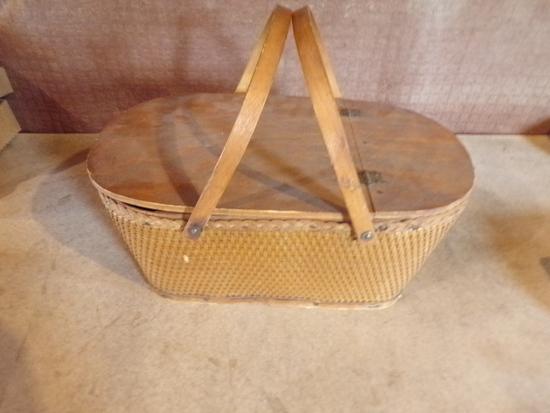 Vintage Picnic Basket by RED-MAN