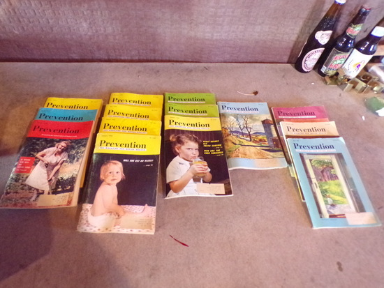 14 Vintage PREVENTION Books