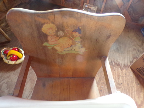 Vintage Childs Highchair