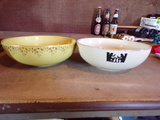 Lot of 2 HALL'S bowls