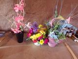 Lot of 3 Vases