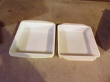 2 Glass Baking Dishes PYREX-FIRE KING