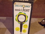 Vintage DIAL-A-BOUNCE movie light