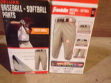 Lot of 2 Baseball-Softball Pants