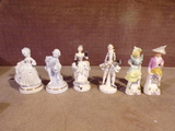 Lot of 3 sets of Porcelain Figures