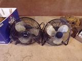 2 Miniature Fans