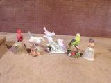Lot of 5 Bird ornaments