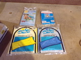 Lot of 4 water rafts and water wings