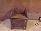 Vintage Bedside Toilet